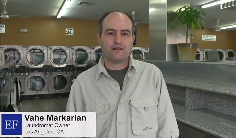 Video - Vahe, M.,  First Time Laundromat Owner.