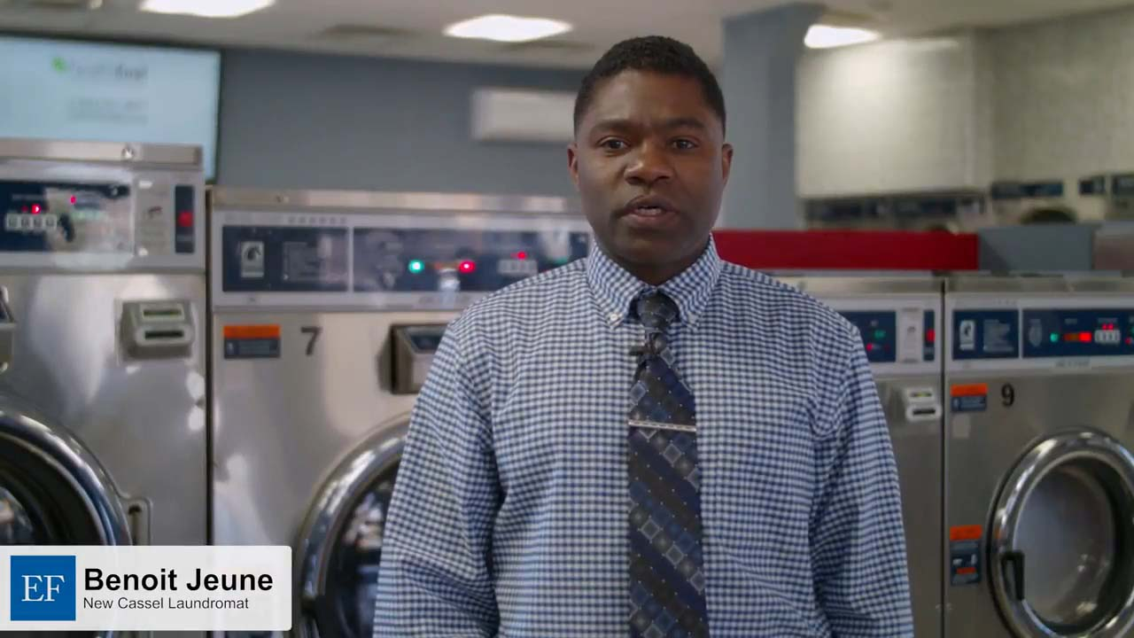 Video - Benoit J., New Cassell Laundromat