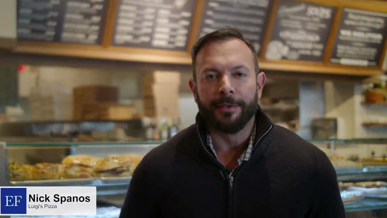 Video - Nick S., Luigi's. Pizzeria