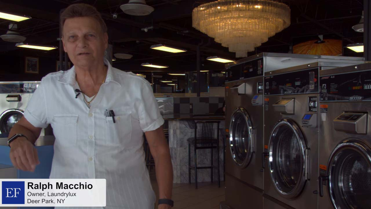 Video - Ralph M., LaundroLux Laundromat