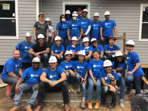 #volunteer Eastern Funding Habitat for Humanity