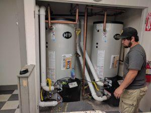 laundromat water heater