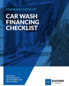 car wash financing checklist