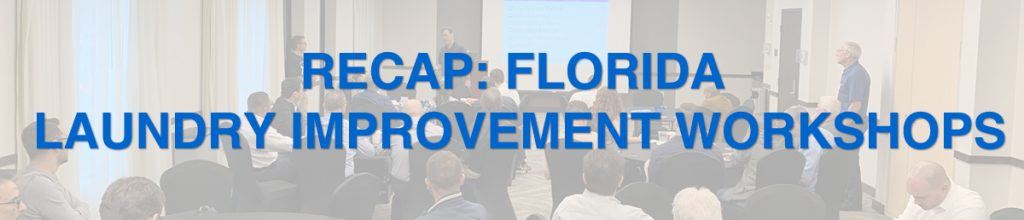 Florida Laundry Improvement Workshops