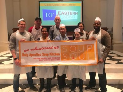 Eastern Funding Volunteer at NYC Soup Kitchen
