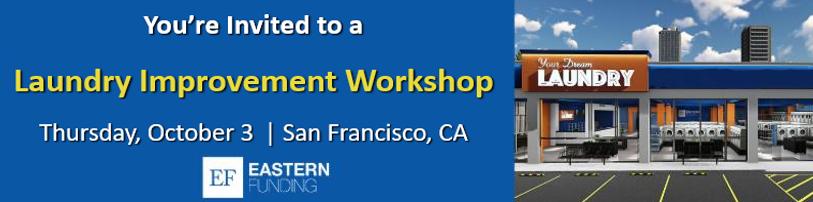 San Francisco Laundry Improvement Workshop header